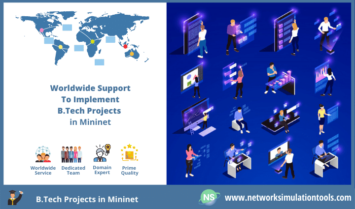 Why to choose Mininet as network tool for b tech final year projects in SDN
