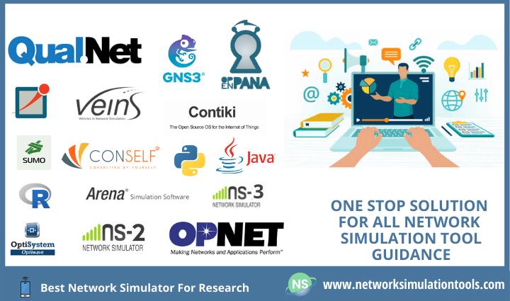 Choosing best network simulator for research work