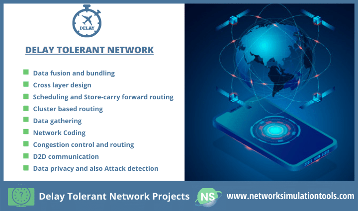 Challenges faced in preventing delay tolerant network projects with source code