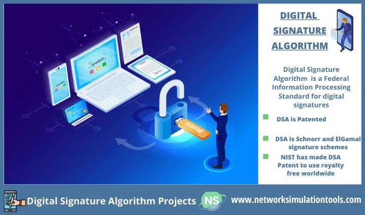 Implementing digital signature algorithm projects