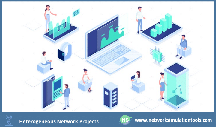 Evaluating performance of heterogeneous network projects based on wide coverage