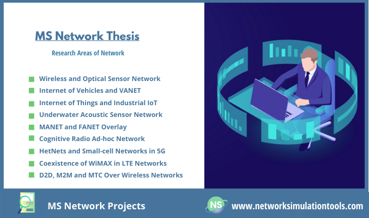 Everything you need to know to carry your research MS Network Projects