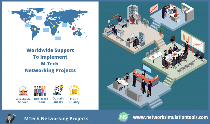 Assistance for M Tech Students to implement networking projects