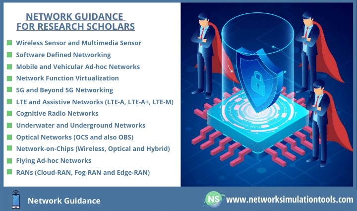 Network guidance for research scholars