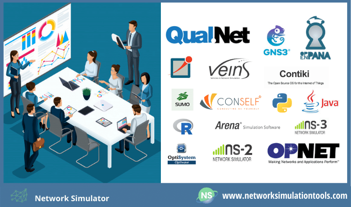 How to run a network simulator