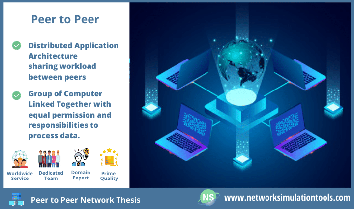 Steps to implement peer to peer network thesis