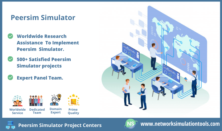 No 1 Peersim simulator Project centers for research scholars