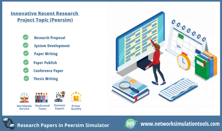 Recent innovative topic for research paper in Peersim simulator
