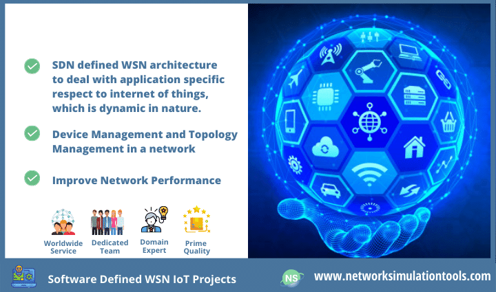 Research survey for software defined wsn iot projects for students