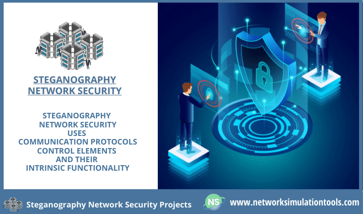 Image video data steganography network security projects for students