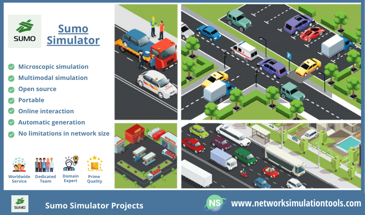 Sumo Simulator Projects for automatic driving or traffic management strategies